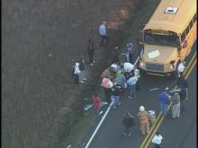 Slideshow from Johnston County Bus Accident