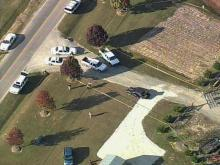 Sky5 Footage: Homeowner Surprises Intruders, Pins 1 With Car