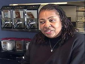 Gwen Matthews opened the Blue Coffee cafe two years ago.