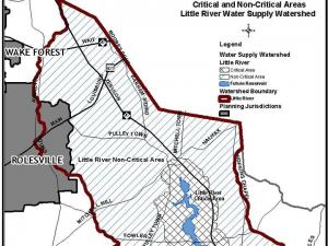 The proposed Little River Reservoir could be completed in 2018 and supply 17 million gallons a day to northeastern Wake County.