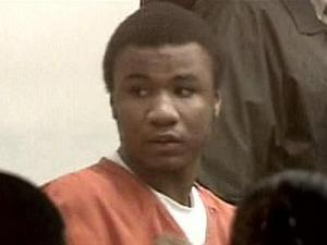 Try Jarel Nelson faces supporters in a Durham County courtroom after being denied bond on first-degree murder charges.