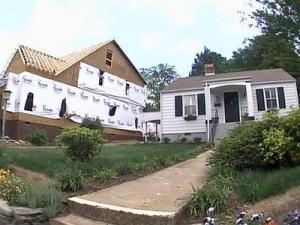 Almost 600 homes have been knocked down in Raleigh in the last five years to make way for larger residences.
