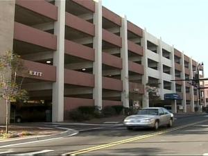 The West Chapel Hill parking deck has cracks in 35 beams.