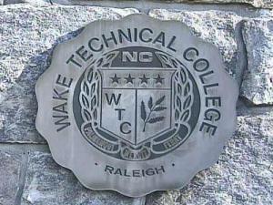 Wake Tech sign