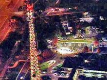 2007 WRAL Tower Lighting
