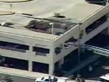 Parking Deck Collapses at Charlotte Mall