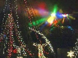 The computerized display of 152,000 lights in Wendell is one of the largest on the East Coast.