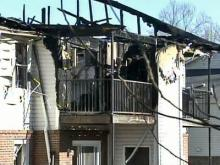 Investigators Search for Cause of Apartment Fire