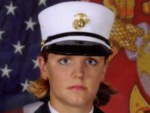 Marine Lance Cpl. Maria Lauterbach