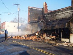 Photo courtesy of Jamie Honrine/Salemburg Volunteer Fire Department