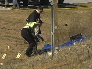 The body of Latrese Curtis was found Wednesday morning, Jan. 30, 2008, along westbound Interstate 540.