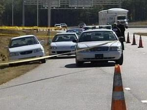 Authorities found Latrese Curtis' car about a quarter-mile away on the same side of the road where her body was found.