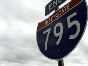 DOT Looking Into Cracked Pavement on I-795