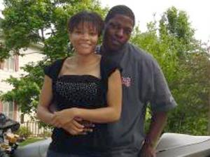 Latrese Curtis and her husband, Darin Curtis, in an undated photo. (Photo courtesy of Myspace.)
