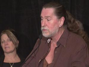 At a news conference in Cary on Feb. 8, 2008, Randy Parton speaks about the troubled Roanoke Rapids theater project that once bore his name.
