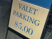 Valet Zones Make Downtown Parking More Difficult
