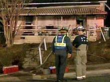 A generator sparked a fire that destroyed this home at Mallard Avenue and North Elizabeth Street in Durham on Friday, Feb. 8, 2008.