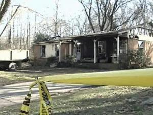 A fire killed a woman Saturday, Feb 9, 2008, at 704 Princeton St. in north Raleigh.