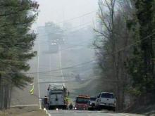 Wind, Dry Weather Cause Forest Fires