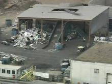 2 Injured When Mortar Explodes at Scrap Plant