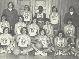 Wake Tech, then Holding Technical Institute, fielded a basketball team in the late 60s and early 70s.