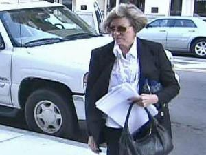Castleton Group owner Suzanne Clifton enters Bankruptcy Court on Feb. 21, 2008.