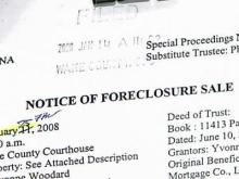 Bargain Hunters Close in on Foreclosure Market
