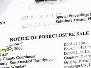 Foreclosure Market
