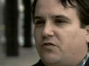 Robert Faggert, seen here during a January 2007 interview with WRAL News, was under investigation by Durham police for child pornography. Faggert, a police department employee, admitted to downloading material. He said it was out of curiosity.