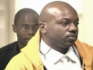 Kenya Teveris Alston surrendered to authorities in Raleigh on Monday, March 3, 2008.