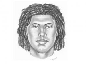 Police released this sketch of a man wanted in connection with a Feb. 29, 2008, robbery and shooting at the Quality Food Mart on South Main Street in Wake Forest.