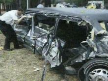 Girl Killed When Truck Crashes Into Funeral Procession