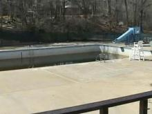 Drought Puts Wake Forest Pool in Jeopardy