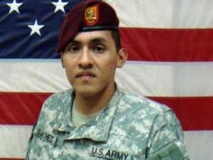 Sgt. Sergio Sanchez, 22, of Anniston, Ala., served as a computer-repair technician with the 82nd Airborne. He died from gunshot wounds received during a robbery outside a nightclub on April 12, 2008, less than a month after his return from Iraq.