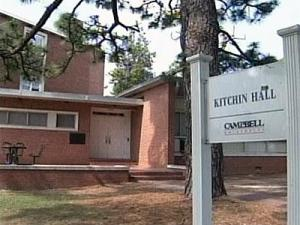 School officials said an exam-week prank involving an explosive device forced residents of Kitchin Hall out of their dorm rooms early Friday morning.