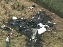 Sky 5 coverage of Greene County plane crash