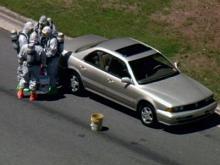 WEB ONLY: Crews at suspected hazmat scene in Durham