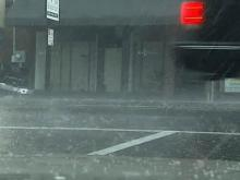 Hail, heavy rain bring damage reports