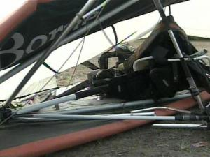 The ultralight craft went down in a wooded area between N.C. Highway 96 and Interstate 40, east of Dunn, early Saturday.