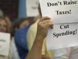 The public outcry at a Town Hall meeting last week led the Board of Commissioners to reject the proposed budget.