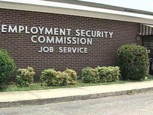 New numbers show that the county has a 9.8 percent unemployment rate.