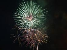 Holly Springs fireworks