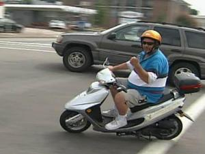 Scooter rider, Vespa