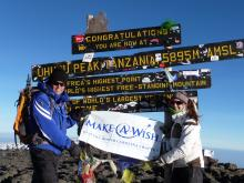 A chance to climb Mount Kilimanjaro helped inspire Julia Heffring, 15, of Raleigh, to raise $7,500 for the Make-A-Wish Foundation in the summer of 2008.