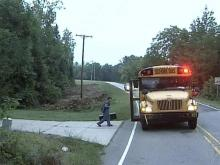 At a time of high gas costs, Durham school bus picks up one student