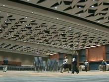 Final touches put on Raleigh's new convention center