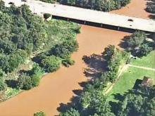 Lakes, rivers rise after Hanna passes