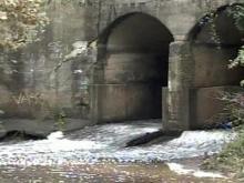 Rainy weather threatening Moore County dam