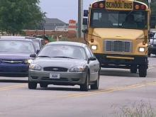Construction causes congestion at Cary school