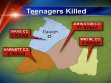Johnston County leads the state in auto-related teen deaths